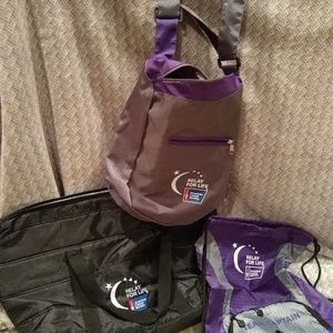 Relay for Life Bags - Set of Three